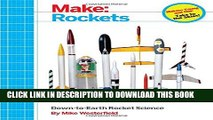 Collection Book Make: Rockets: Down-to-Earth Rocket Science