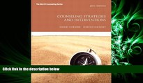 FULL ONLINE  Counseling Strategies and Interventions (8th Edition) (Interventions that Work Series)