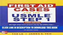 [PDF] First Aid Cases for the USMLE Step 1, Third Edition (First Aid USMLE) Full Colection