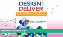 read here  Design and Deliver: Planning and Teaching Using Universal Design for Learning