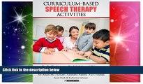 Big Deals  Curriculum-based  Speech Therapy Activities: Pre-K / Kindergarten:  English   Spanish