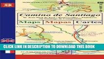 [New] Camino de Santiago Maps / Mapas / Cartes: St. Jean Pied de Port/Roncesvalles - Finisterre
