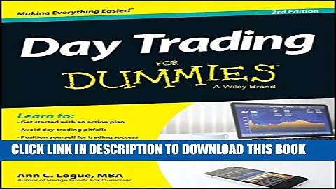 Collection Book Day Trading For Dummies