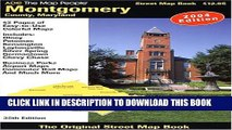 [New] ADC The Map People Montgomery County, Maryland: Street Map Book (Montgomery County (MD)