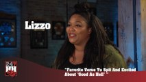 """Lizzo - Favorite Verse To Spit And Excited About """"Good As Hell"""" (247HH Exclusive) (247HH Exclusive)"""