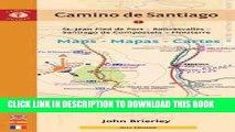 [New] Camino de Santiago Maps - Mapas - Cartes: St. Jean Pied de Port - Roncesvalles - Santiago de