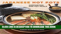 [PDF] Japanese Hot Pots: Comforting One-Pot Meals Full Colection