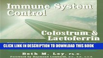 [PDF] Immune System Control: Colostrum   Lactoferrin Full Colection