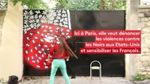 Dis-le en street art : les violences policières contre les Noirs aux Etats-Unis