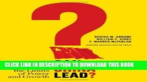 [PDF] Can China Lead?: Reaching the Limits of Power and Growth Popular Collection