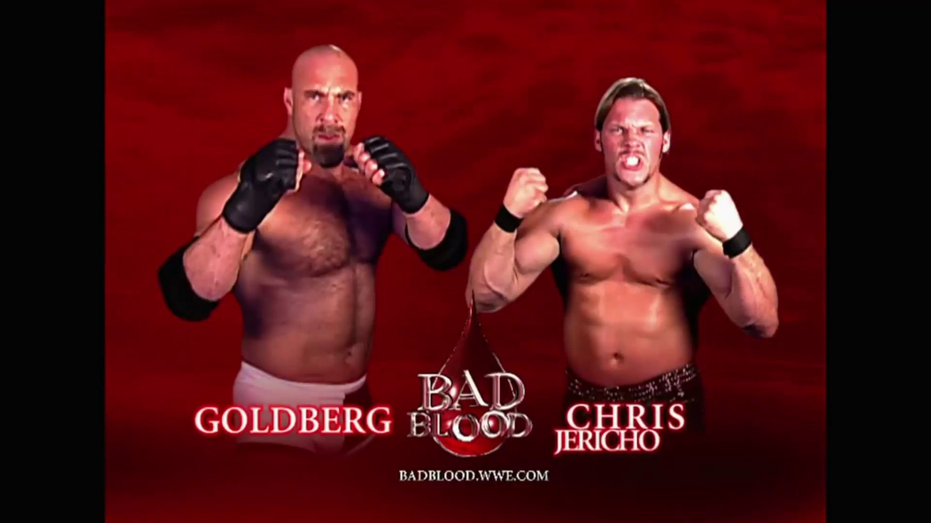 Image result for WWE Bad Blood 2003 Goldberg vs Jericho