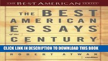 [PDF] The Best American Essays of the Century (The Best American Series) Popular Online