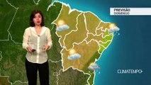 Previsão Nordeste – Frente fria chega a Salvador
