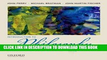 [PDF] Introduction to Philosophy: Classical and Contemporary Readings Popular Online