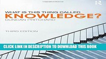 [PDF] What is this thing called Knowledge? Popular Online