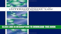 [PDF] Documentary Supplement to International Law, Fourth Edition Full Online