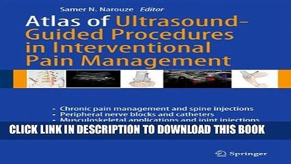 [PDF] Atlas of Ultrasound-Guided Procedures in Interventional Pain Management Full Online
