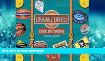 For you Exotic Destinations Luggage Labels: Travel Stickers
