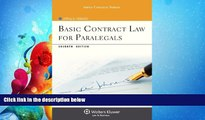 read here  Basic Contract Law for Paralegals, Seventh Edition (Aspen College)