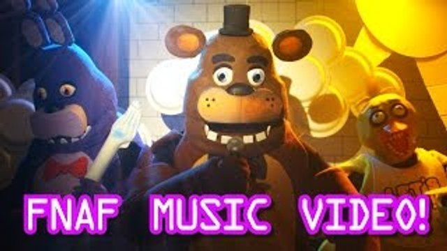 Five Nights At Freddys Live Action Music Video - FNAF Song