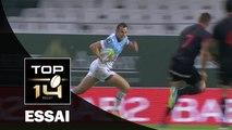 TOP 14 ‐ Essai Romain MARTIAL (AB) – Bayonne-Lyon – J7 – Saison 2016/2017