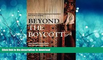 READ PDF Beyond the Boycott: Labor Rights, Human Rights, and Transnational Activism (American