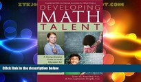 Big Deals  Developing Math Talent  Free Full Read Most Wanted