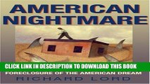 [PDF] American Nightmare: Predatory Lending and the Foreclosure of the American Dream Full Online