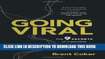 [PDF] Going Viral: The 9 secrets of irresistible marketing Full Collection
