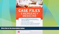 Big Deals  Case Files Emergency Medicine, Third Edition (LANGE Case Files)  Best Seller Books Most