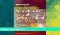 Big Deals  Massachusetts General Hospital Review of Critical Care Medicine  Free Full Read Best