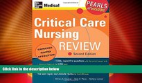 Must Have PDF  Critical Care Nursing Review: Pearls of Wisdom, Second Edition  Free Full Read Best