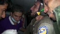 Un bénévole syrien ému aux larmes par le sauvetage d'un bébé !