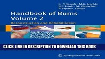 Handbook of Burns Volume 2: Reconstruction and Rehabilitation