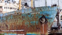 Amazing collection old abandoned ships floating at sea and not also. Best rusty navy military ships