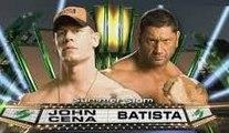 WWE Summerslam 2008 John Cena Vs Batista