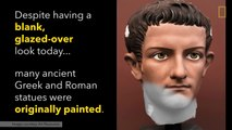Greek And Roman Statues Were Once Colorfully Painted ll National Geographic