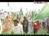 Jan Satyagraha: 50,000 people march to Delhi