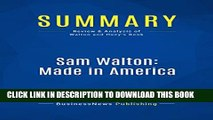 [PDF] Summary: Sam Walton: Made In America: Review and Analysis of Walton and Huey s Book Popular