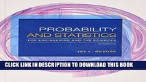 [PDF] Probability and Statistics for Engineering and the Sciences + Enhanced WebAssign Statistics