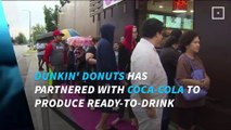 Dunkin' Donuts, Coca-Cola to unveil bottled coffee drinks in 2017