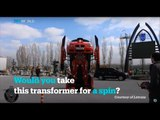 Turkish company turns BMW into a Transformer