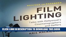 [PDF] Film Lighting: Talks with Hollywood s Cinematographers and Gaffers Popular Online