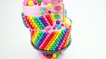 Wacky Rainbow Bubble Gum Cake (Bubblegum Cake) from Cookies Cupcakes and Cardio