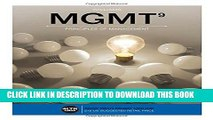 [PDF] MGMT  (with MGMT Online, 1 term (6 months) Printed Access Card) (New, Engaging Titles from