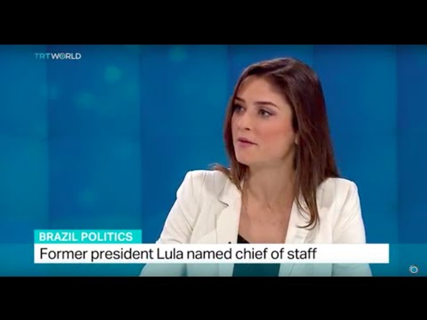 TRT World's Anelise Borges talks about former president Lula's appointment
