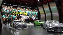 World premiere Mercedes-AMG GT C Roadster Reveal at 2016 Paris Motor Show