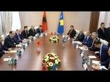 Report TV - Thaçi nis vizitën në Tiranë takime me krerët e shtetit