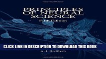 New Book Principles of Neural Science, Fifth Edition (Principles of Neural Science (Kandel))