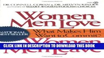 Collection Book Women Men Love, Women Men Leave: What Makes Men Want to Commit?